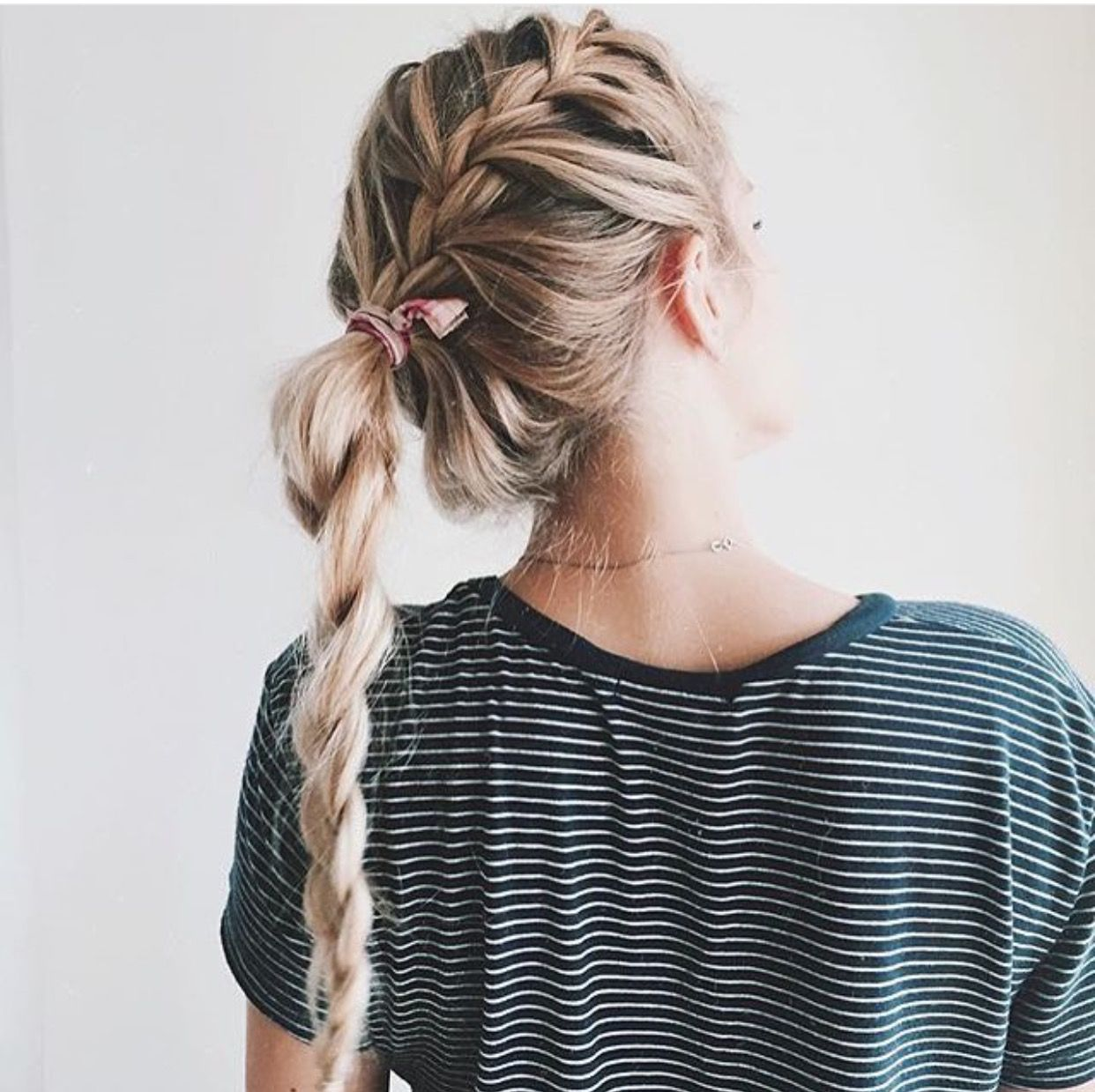 This hair is so adorable and would be perfect for those lazy days