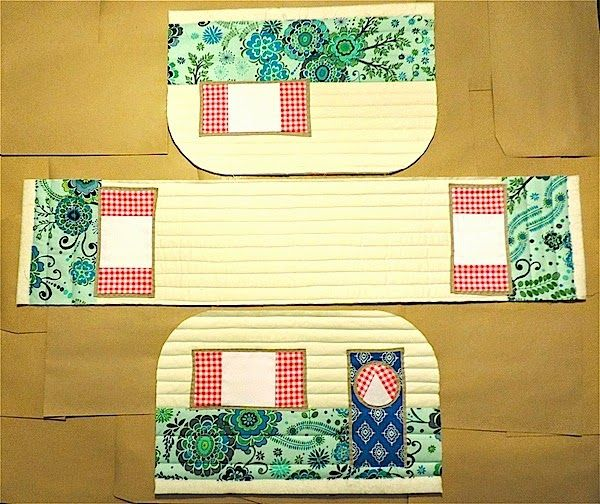 Rainbow Hare Quilts: Vintage Caravan Sewing Machine Cover - Pattern ...