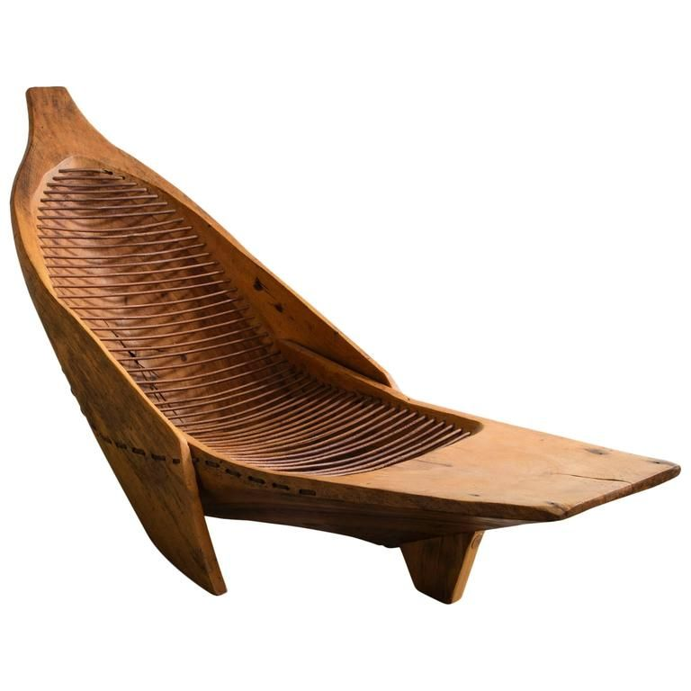 Sirinhaem  Chaise Longue by Hugo Franca, Brazil, 2006 is part of Chaise longue - View this item and discover similar  for sale at 1stdibs  'Sirinhaem' chaise longue in juerana wood and leather  Designed and made by Hugo Franca, Brazil, 2006