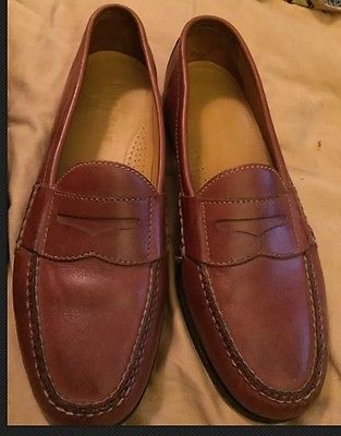 7e41b4f87 Cole Haan City mens size 11D Tassel loafer Black Leather casual shoe   eBay