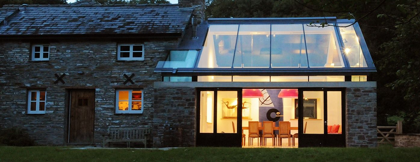 Modern Glass Extensions cottage modern extension - google-suche | dream-house // exterior
