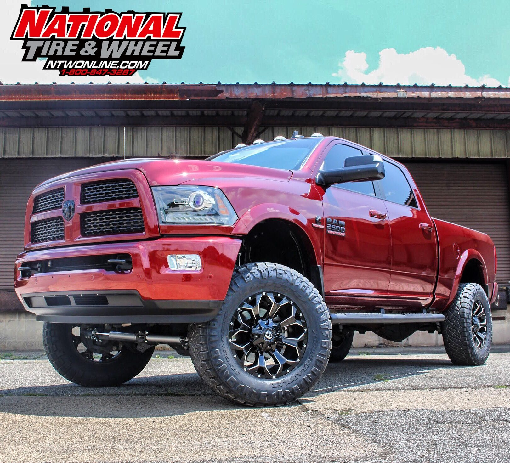 Dodge 2016 Trucks: NTW Install: This 2016 Dodge 2500 Received A 5in Rough