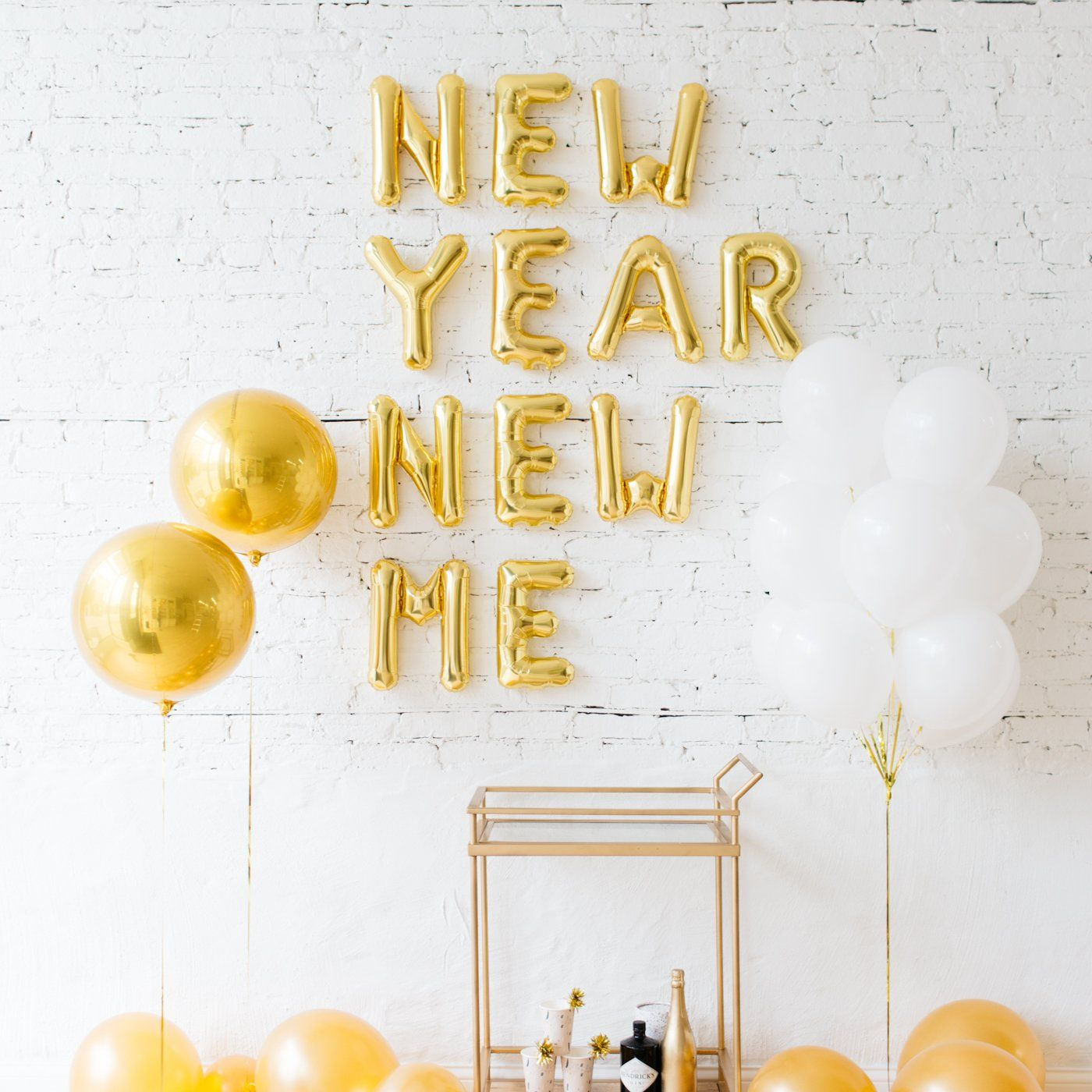 New Year New Me Balloons Set | Rodan and fields | Pinterest