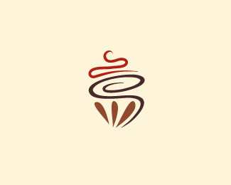 Pastry logo design: Whipped Pastry