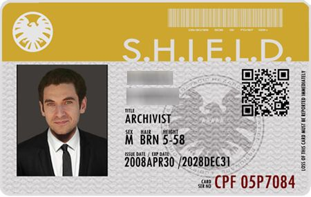 SHIELD Cards Template (AoS and Winter Soldier Recto-Verso - id card psd template