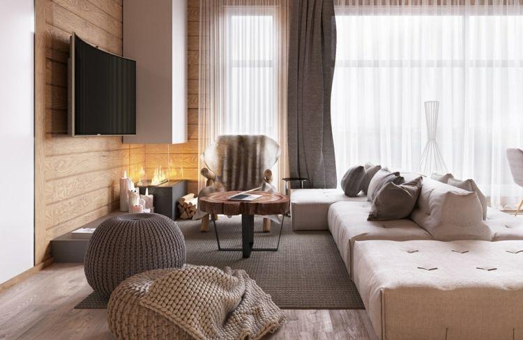 Wohnzimmer Einrichtungsideen Beispiele  Tipps für den trendigen - wohnzimmer neu gestalten