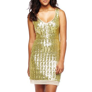 dc580dfb Bisou Bisou® Sleeveless Sequin Dress - jcpenney | Wedding ...