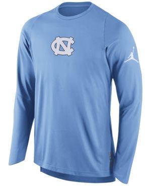 Elite Fan Shop North Carolina Tar Heels Tshirt Blue