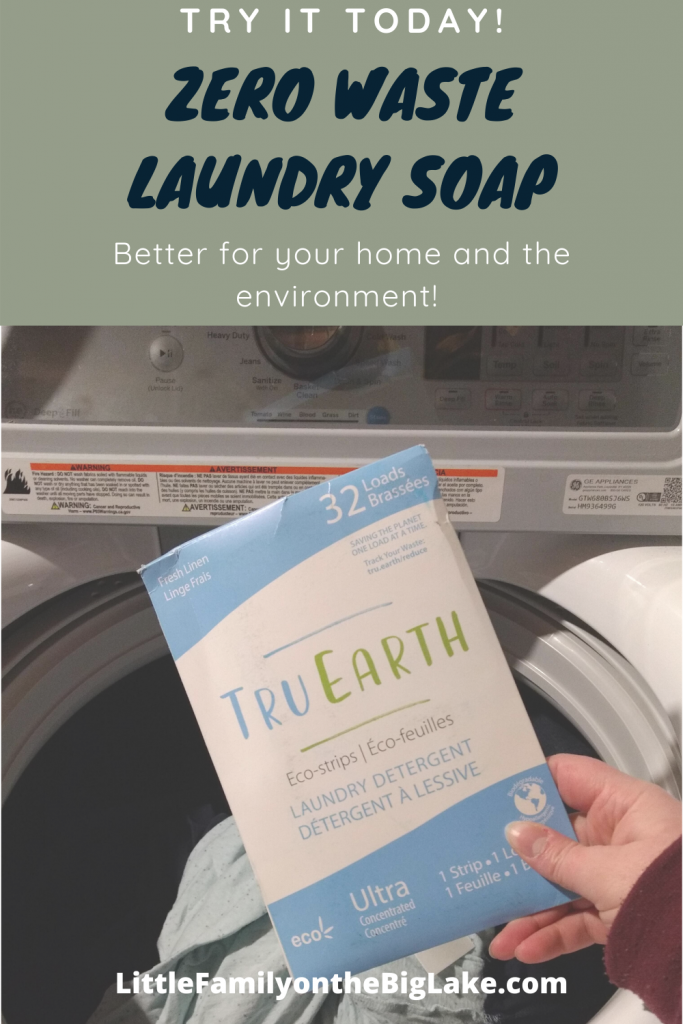 Ditch The Large Messy Plastic Covered Laundry Detergent Try