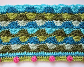 knit & crochet design: Lily Pond CAL - Block Four