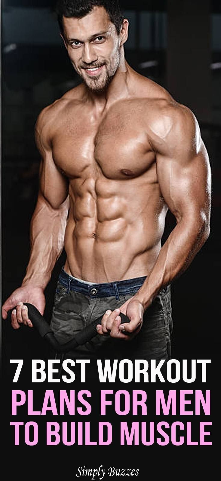 7 Best Workout Plans For Men To Build Muscle Workout plan for men Best workout plan Workout plan