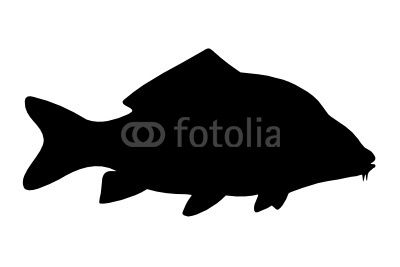 carp as shadow schattenbilder silhouettes. Black Bedroom Furniture Sets. Home Design Ideas