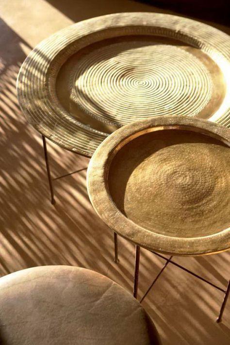 Créez une ambiance charmante en utilisant le plateau marocain - Archzine.fr