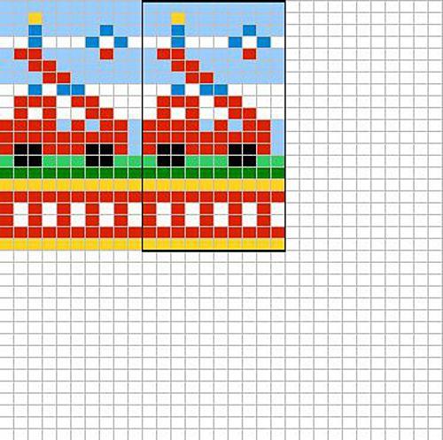 Fire brigade chart pattern by Sandra Jäger | Varios, Tejido y Bordado