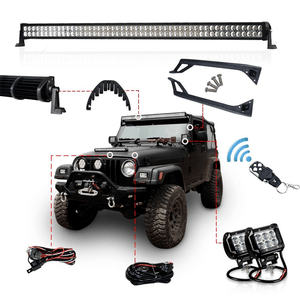 The 9 Best Jeep Light Bars With Images Jeep Led Light Bar Jeep Light Bar Jeep Lights