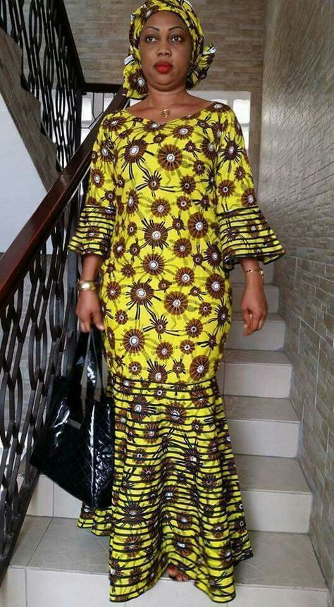 Doudou | Mode africaine robe, Mode africaine robe longue