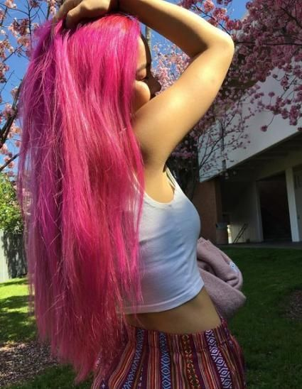 28 Ideas for hair color crazy pink hairstyles   - Wedding Idea , Wedding Dress , Wedding Hair Style , Bridal Shoes - #bridal #color #CRAZY #Dress #hai...