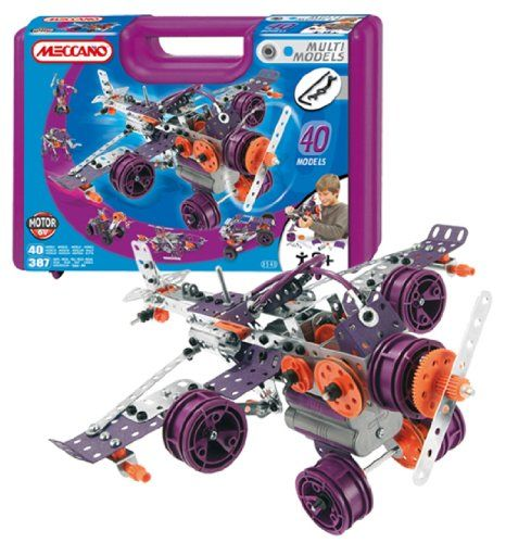 Meccano 40 Model Set   Your #1 Source for Toys and Games
