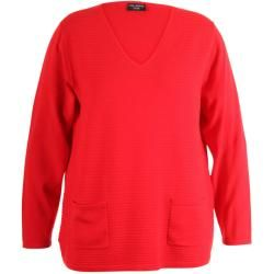Photo of Via Appia Red Sweater With Open …