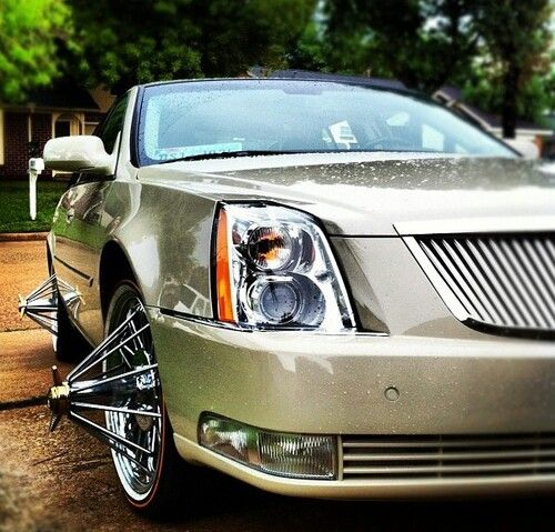 The Cadillac CTS With Swangers