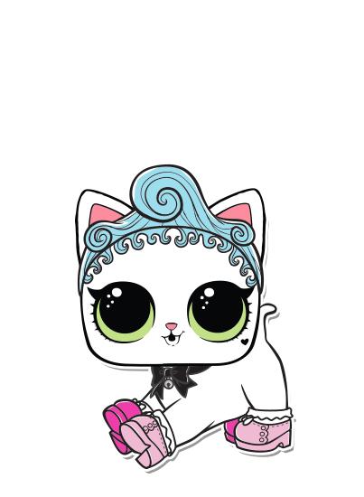 Series 3 Royal Kitty Cat Glam Club Lol E Lil Lol Lol