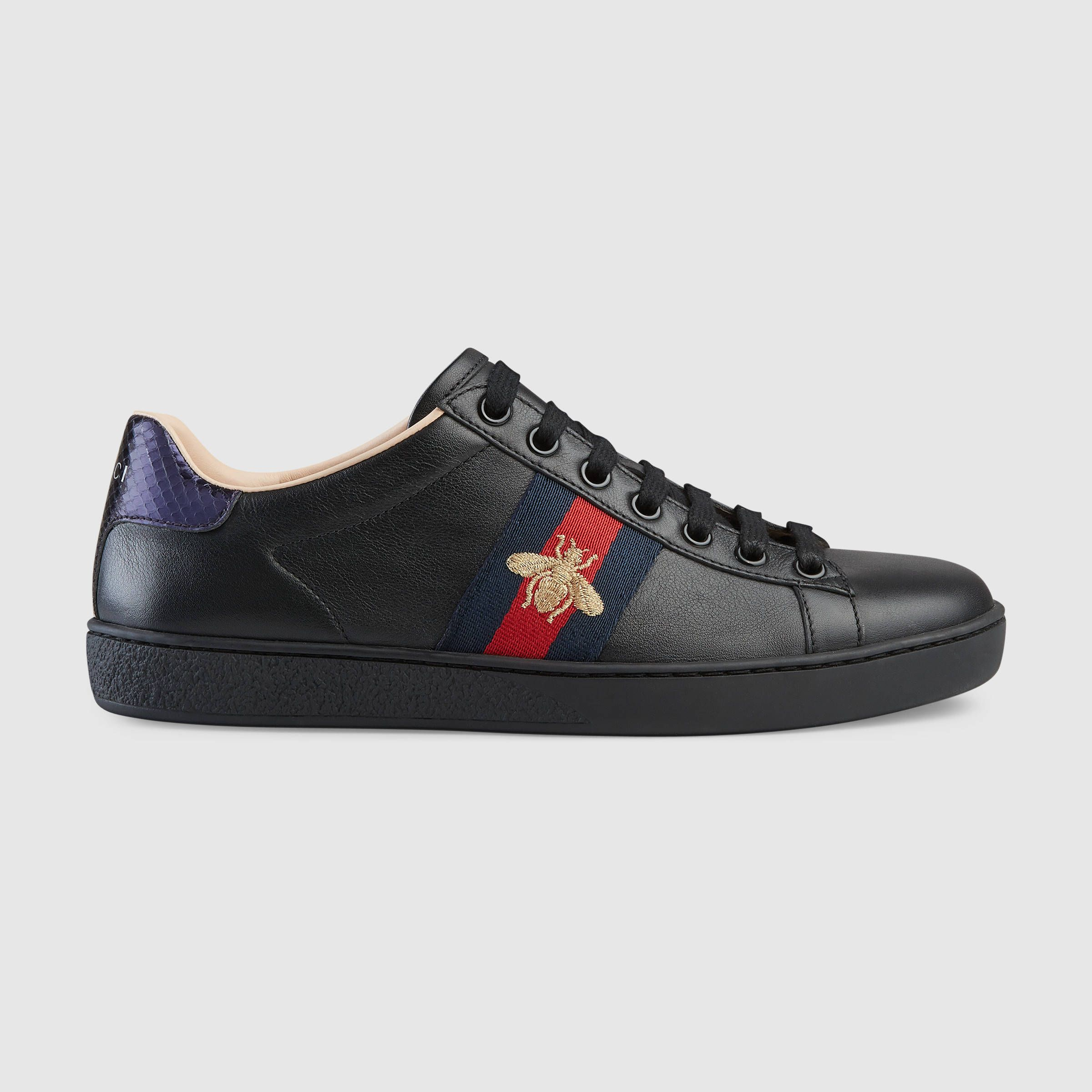 Ace embroidered sneaker - Gucci Women's Sneakers 431942A38G01284