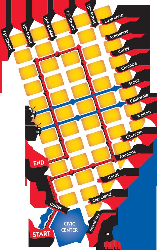 Parade of Lights route map | Denver | Pinterest | Map, Colorado