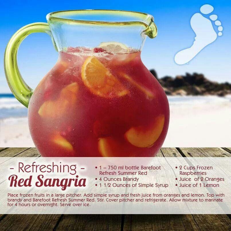 Barefoot Refreshing Sangria