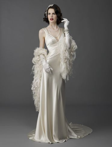 photo of glam wedding dress - Yahoo! Search Results hollywood glam ...