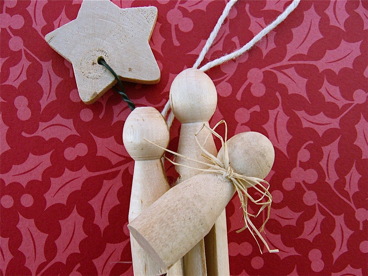Clothespin Nativity Ornament Etsy Nativity Ornaments Nativity Crafts Ornaments