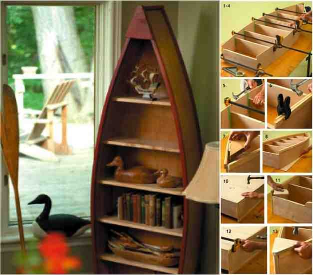 How To Make A Boat Book Shelf With