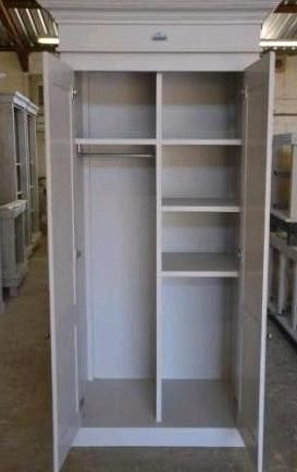 Flair Grocery Cupboard as broom and vacuum cleaner cupboard