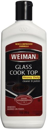 Weiman Glass Cooktop Cleaner & Polish, 10 Oz, Multi