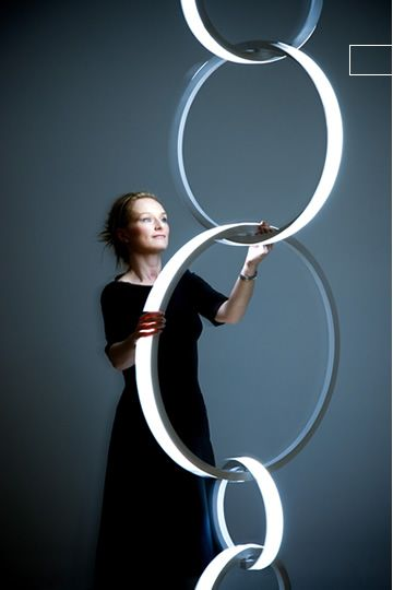 Ring Light...so very lovely, sculptural, useful and brilliant
