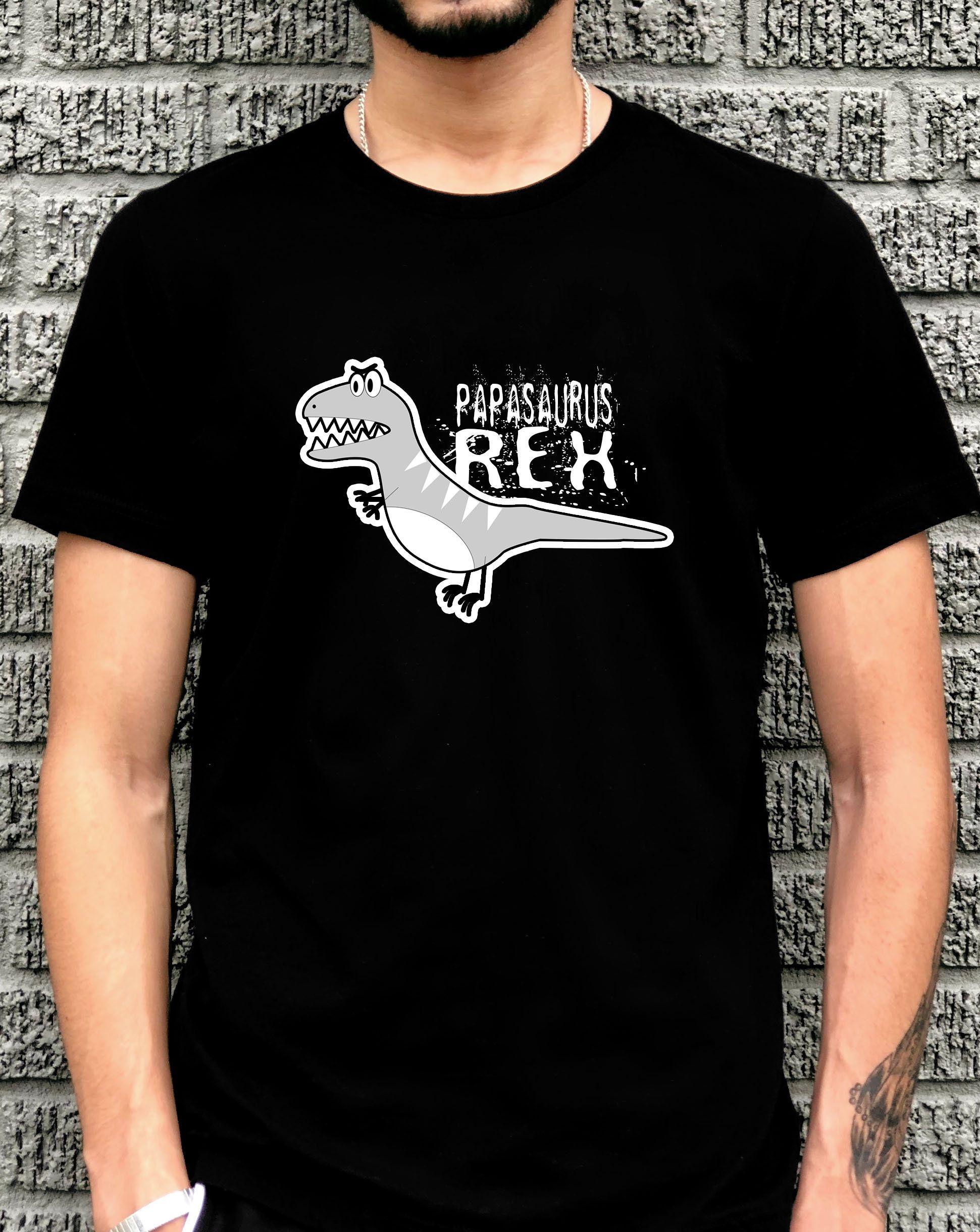 7aa86a65 Papasaurus T Shirt, Funny Dad T Shirt, Gift For Dad, Papa Shirt ...