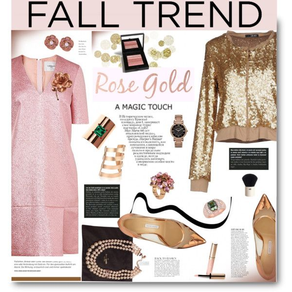 Fall Jewelry Trend Rose Gold