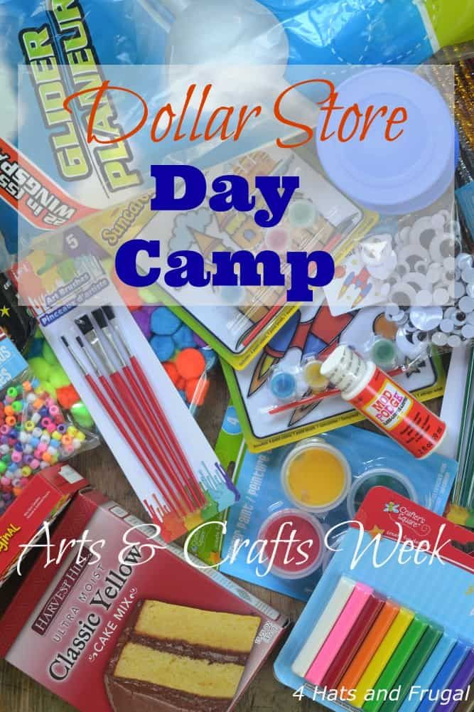 Photo of Dollar Store Day Camp Week 2 – Arts and Crafts