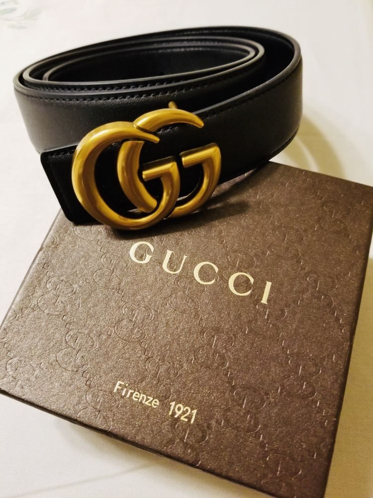21ee4fe77ee Gucci Leather Belt with Double G Buckle 115cm  fashion  clothing  shoes   accessories  womensaccessories  belts (ebay link)