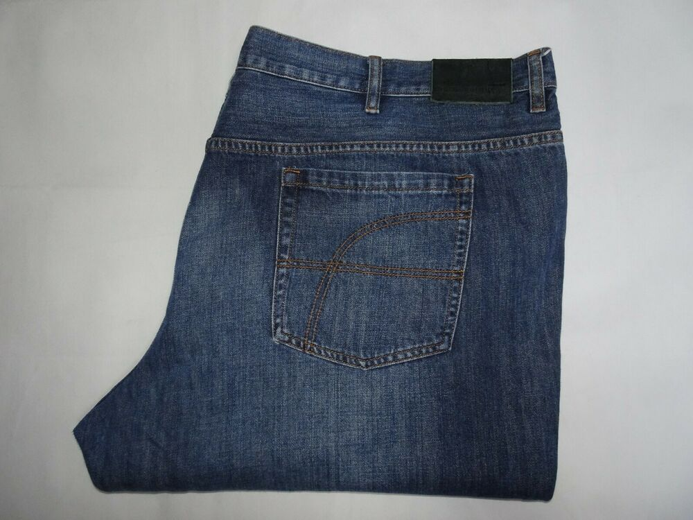 release date outlet store great prices Sponsored)eBay - PIERRE CARDIN Mens Jeans Blue Denim Loose ...
