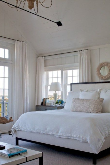 Modern coastal bedroom decorating ideas also house fix up rh pinterest