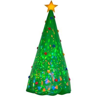 Albertsons Christmas Hours.Airblown Inflatable Kaleidoscope Christmas Tree Christmas