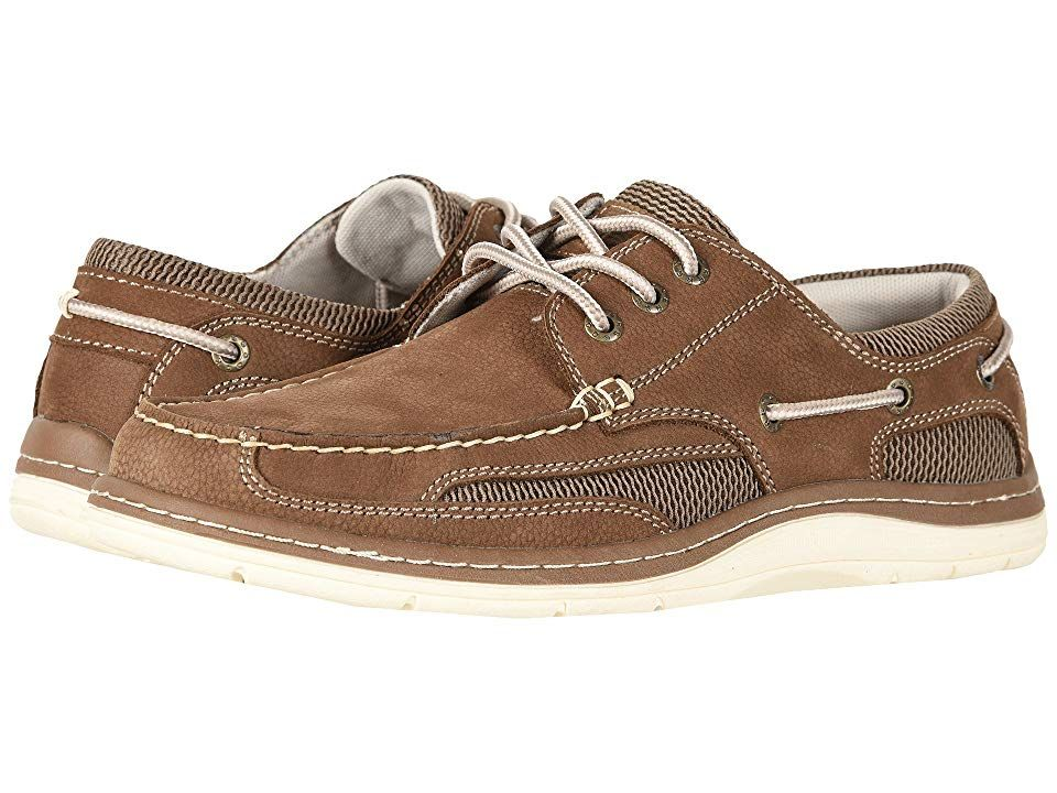 where can i buy premium selection shoes for cheap Dockers Lakeport Boat Shoe (Dark Taupe Tumbled Nubuck) Men's ...