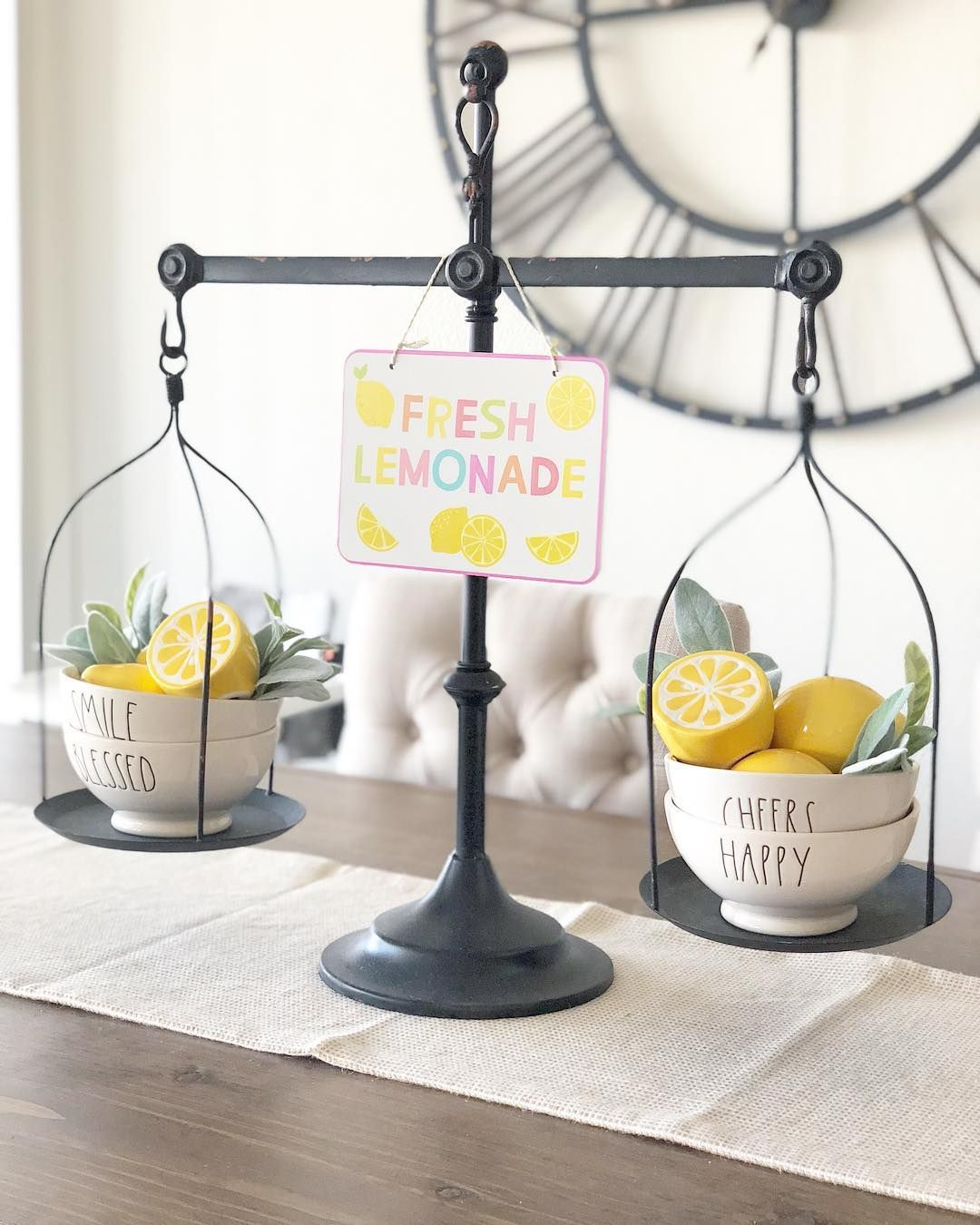 Really Loving Target S Lemon Stuff Bullseye S Playground Has Tons Of Them Perfect Way To Add Some C Kitchen Decor Collections Lemon Kitchen Decor Scale Decor