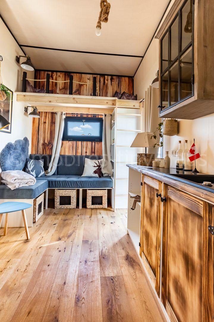 Unser modernes Tiny House Canada ist für Familien gebaut