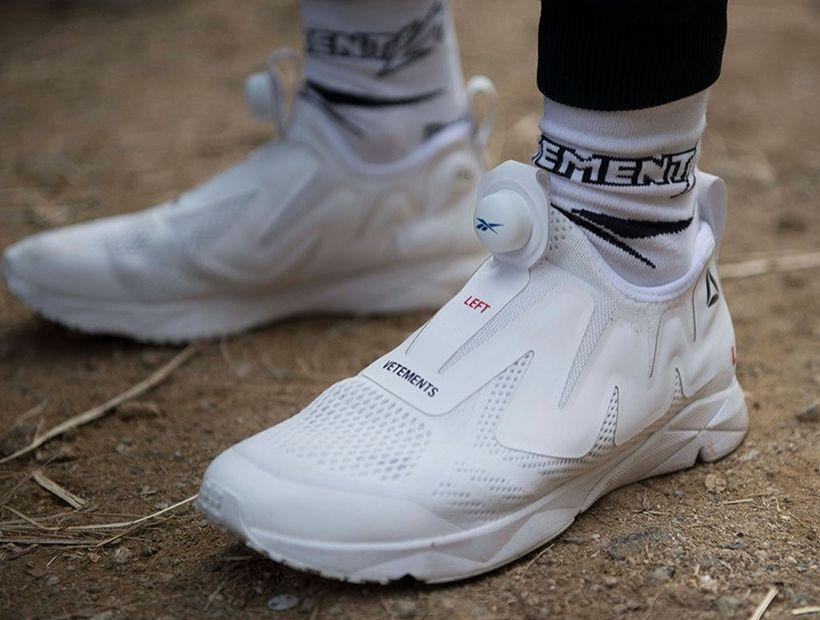 Vetements X Reebok Instapump Fury Mens 10 Reebok Pump Pump Sneakers Reebok