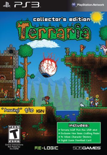 Terraria Collectors Edition Digital Game Download Card By 505 Games Click On The Image For Additional Details Note It Is Affiliat Xbox New Video Games Games