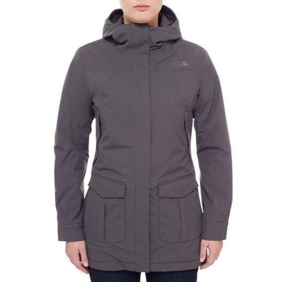 The North Face NSE Jacket Damen Winterjacke graphite grey im