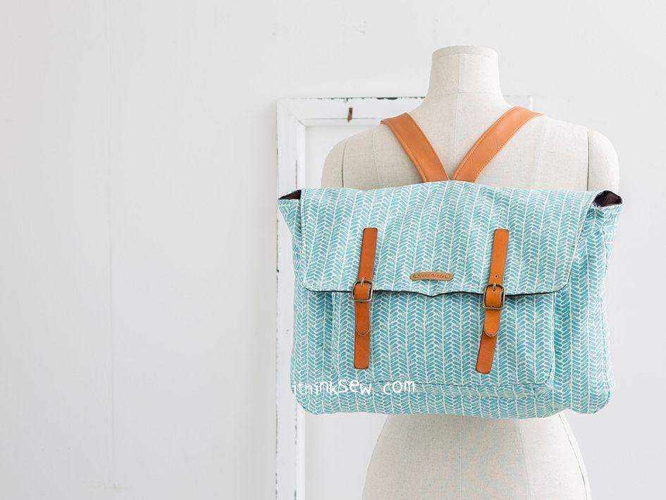 1098 Natasha Bagpack PDF Pattern | .Crafts For Me. | Pinterest
