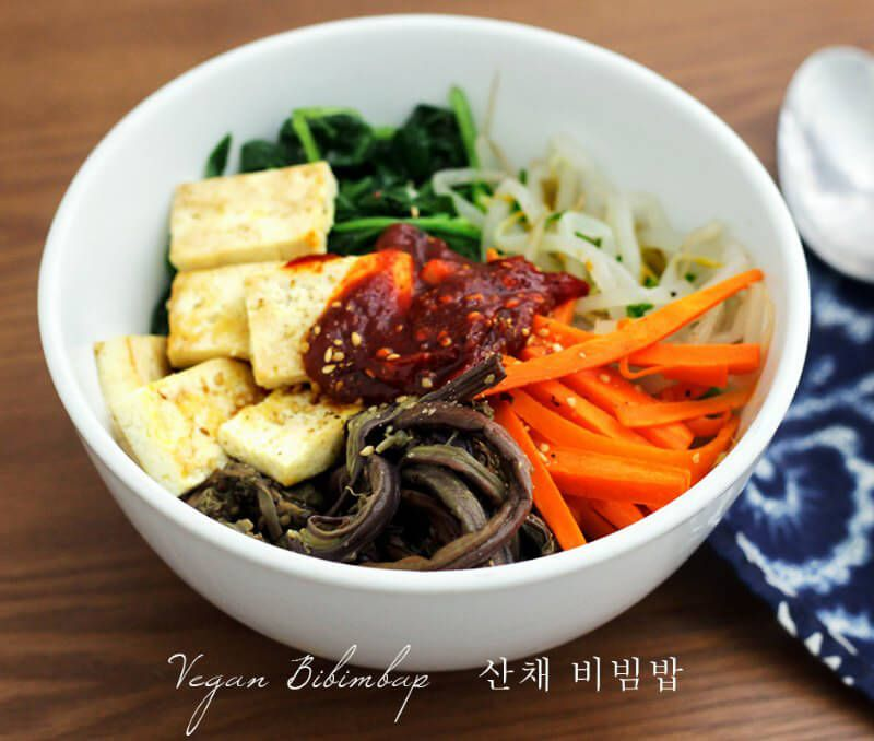 13 Vegan Korean Recipes To Make You Say Mashita Peta Korean Vegetarian Recipes Vegetarian Recipes Whole Food Recipes