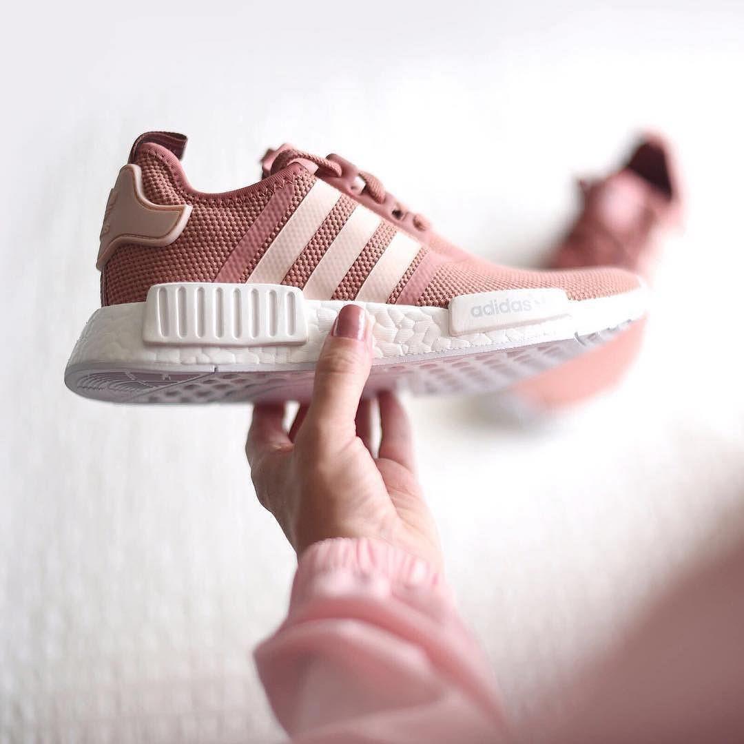adidas nmd femme rose et gris